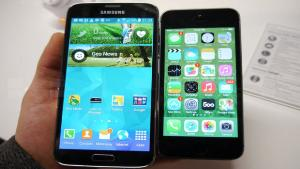 iPhone 5S mi Galaxy S5 mi