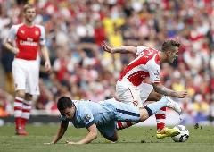 ARSENAL-MANCHESTER CITY (13.09.2014)